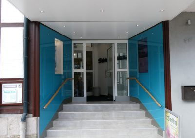 Glanzvoller Eingang